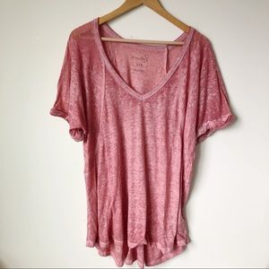 Free People Beach T-Shirt Size Large
